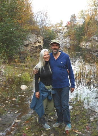 Lucy and Alan are weighing plans to develop a healing community and geomancy school on his 33 acre property in Ontario.