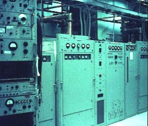 The E513 was a 1,000-watt high-frequency transmitter, and was one of the components irradiating Geroge for 12 months in South Vietnam.