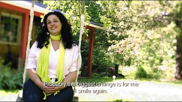 "Dafna Tachover: ""I now smile again"""