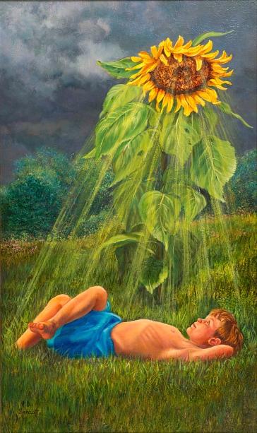 Solar Flower Power © Mardel Sanzotta
