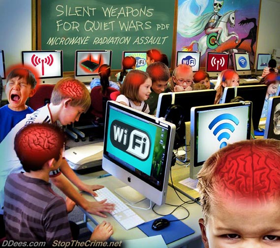 Silent Weapons: Wi-Fi © David Dees