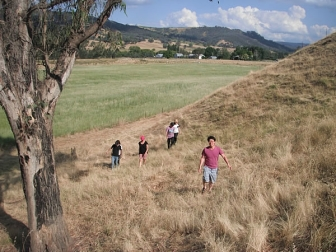 Bruce's land in King Valley (Wangaratta, Victoria Australia) where he plans to create an EHS Refuge as soon as people come join him.