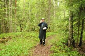 Landline in the Forest,  film by Bie Erenurm, starring John-Erik Leth